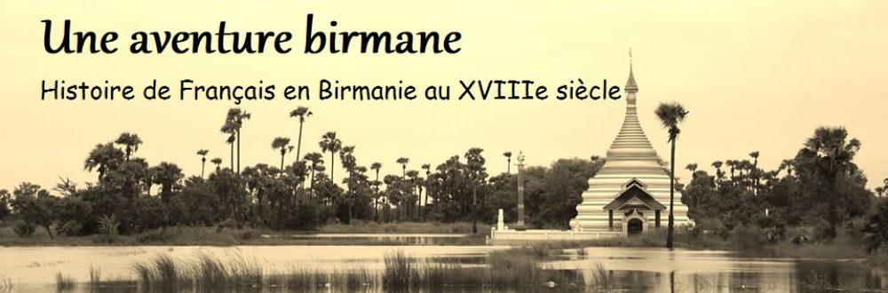 Une aventure birmane
